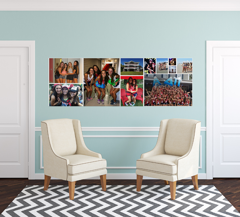 Custom Photo Wall Stickers Decals And Removable Photo Wallpaper - Custom vinyl wall decals canada   how to remove