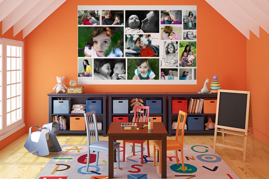 WeMontage.com Picture Wall Collage